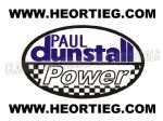 Paul Dunstall Power Tank and Fairing Transfer Decal DDUN13-2